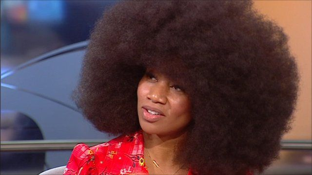 Aevin Dugas. World's biggest fro