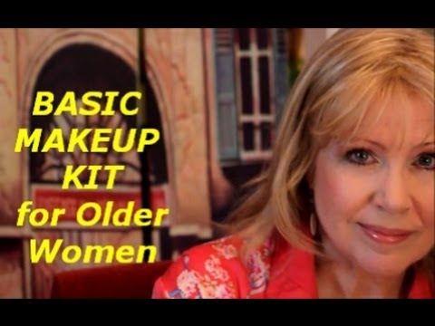KathyAs Makeup101: BASIC MAKEUP KIT for Older Women - YouTube