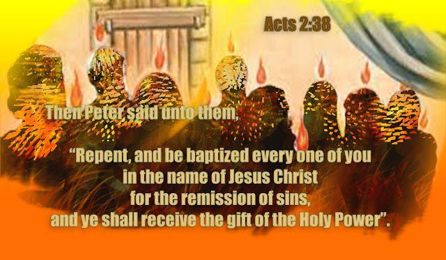 "Talking about Jesus Christ.: ""Pentecost"""