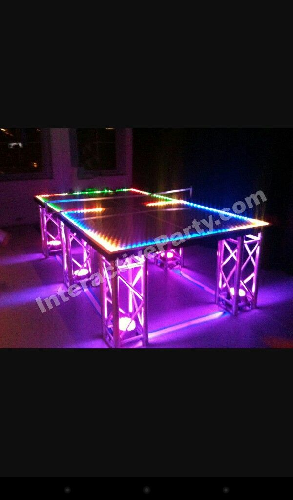 Ideas For A Glow In The Dark Party Or Mitzvah