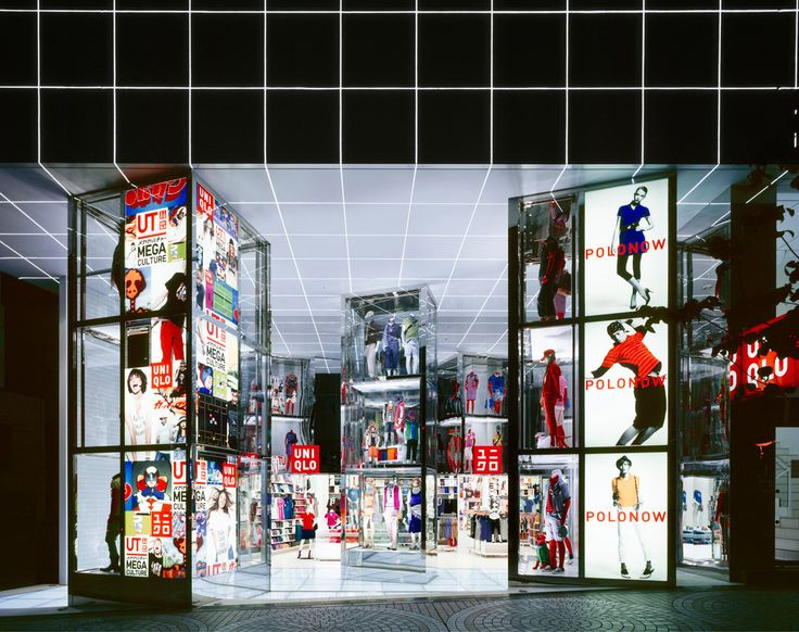 Block design inspires me - Uniqlo flagship store