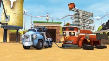 Трактаун - Мегавиражные горки! Новые мультики про машинки http://video-kid.com/9815-traktaun-megavirazhnye-gorki-novye-multiki-pro-mashinki.html  Смотри все серии Трактауна: Добро пожаловать в Трактаун - безумно веселый шумный город, в котором никогда не бывает скучно! Здесь живут друзья-машинки: грузовик Джек, самосвал Дэн, монстр-трак Макс, пожарная машина Феликс и многие другие. Вместе они каждый день играют, справляются с трудностями, заводят новых друзей и, конечно, гоняют по трассам…