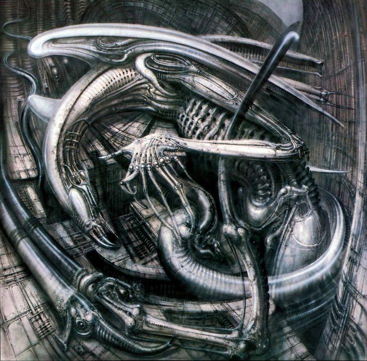 Ганс Руди Гигер: Alien Monster IV