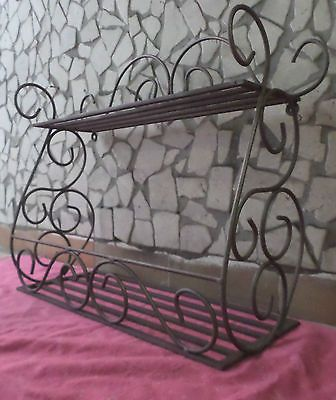 39 best mensole fioriere porta porta piantine in ferro for Mensole in ferro battuto