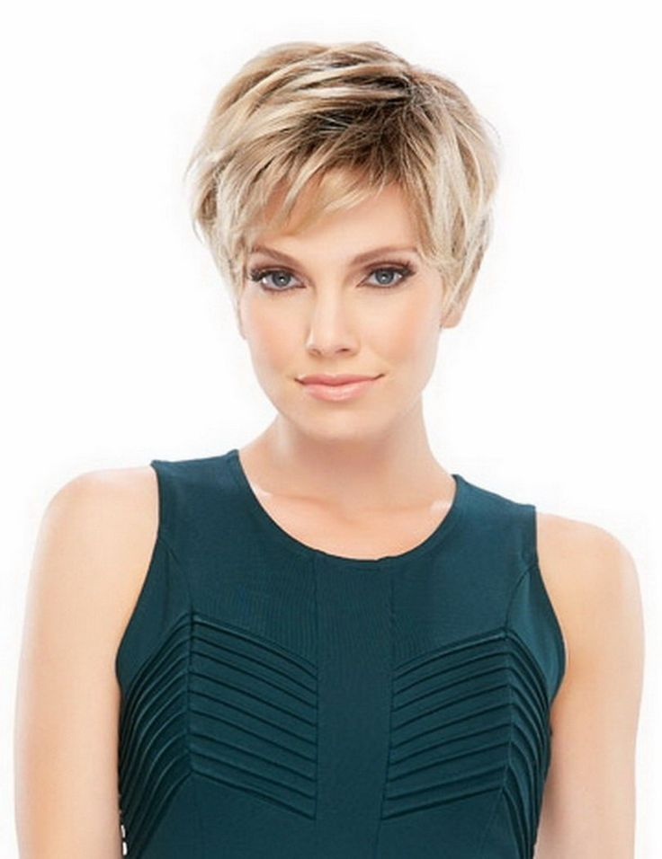 New Arrival Heat Resistant Synthetic Fluffy Straight Natural Short Blonde Wig For Women Free Shipping Peruca Sintetica