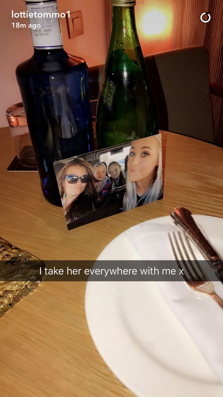 Lottie on her Snap