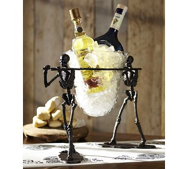 WANT! Walking Dead Serve Bowl Stand #potterybarn