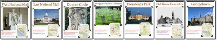 Washington DC Self Guided Walking Tours and Printable Maps Facts Printable PDF Tour Map