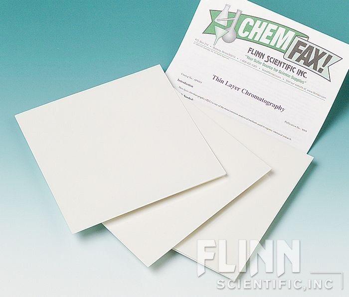 Thin Layer Chromatography Sheet, 20 x 20 cm