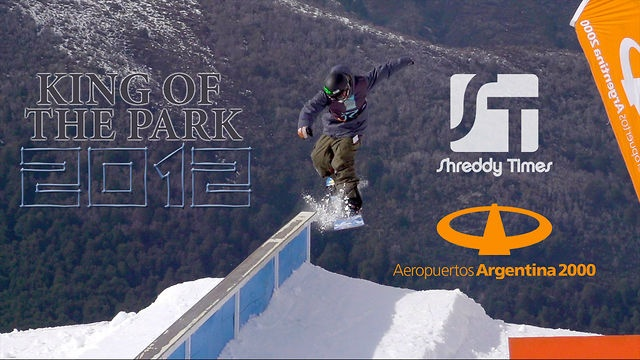 King of the Park by Shreddy Times. The 6th Annual King of the Hill contest took place at Cerro Bayo (Argentina) while we happened to be in town. It was a fun, well done event with challenging, ever changing weather to film in. All in all an awesome day!