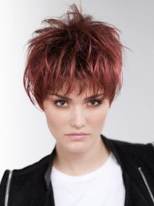 Surf One #wigs #pruiken #rood #Peruca #ReadytoWear  #EllenWille #vlotmodel