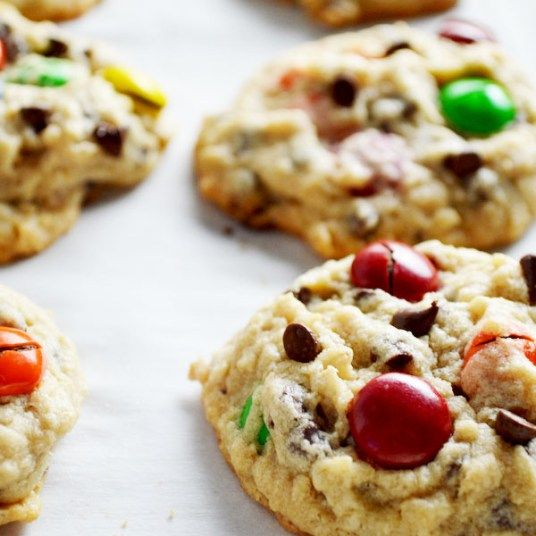 Peanut Butter Monster Cookies....these are totally unreal. Hands down my favorite cookies!