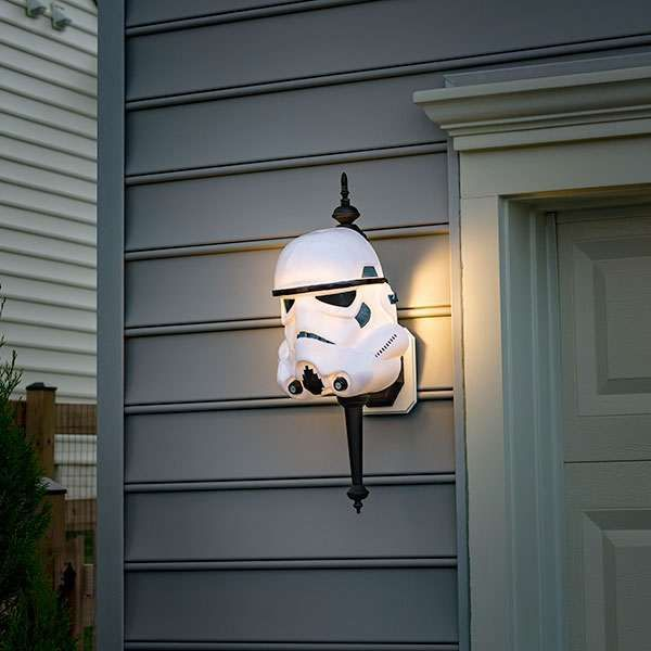 Star Wars Porch Light Covers Lamparas Caseras Decoracion Friki Decorar Habitacion Pequena