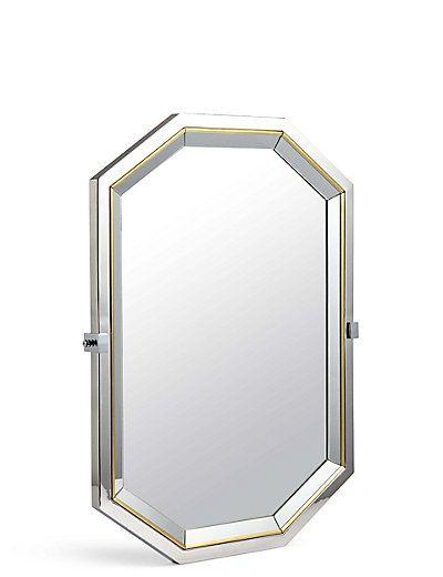 Hollywood Octagon Mirror | M&S