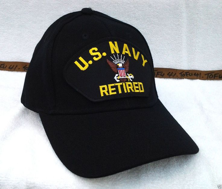 Navy Retired Hats: US Navy Retired Embroidered Patch Cap – Jerusalem