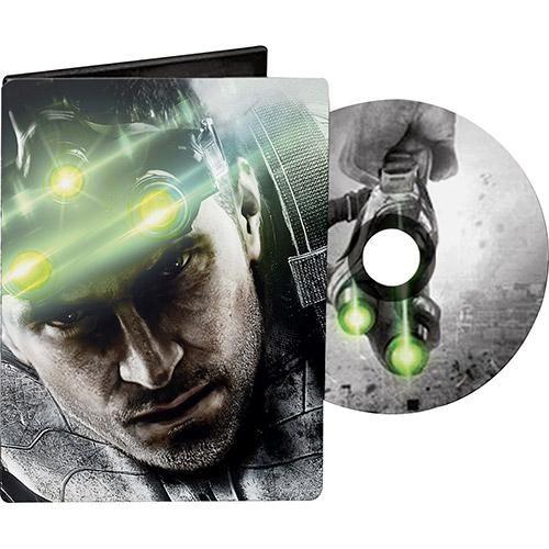 [Sub] Box Metálico Splinter Cell Blacklist (Jogo de PS3) R$9,90+frete