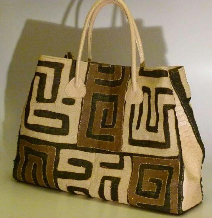 Bakuba bags