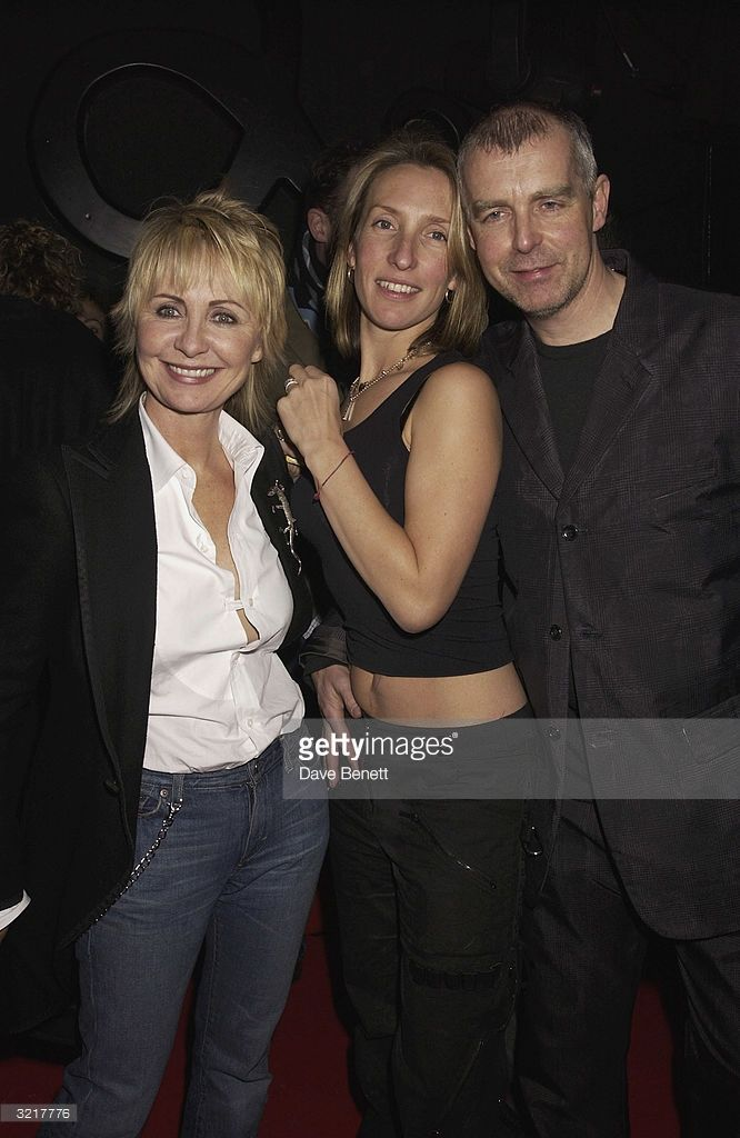 Lulu, Sam Taylor Wood and Neil Tennant attend the Pet Shop Boys Party at Infinity on February 5, 2003 in London.