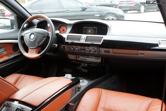 BMW 730D E65 INDIVIDUAL | EZ AUTO 745li custom interior console 745 7 series brown black