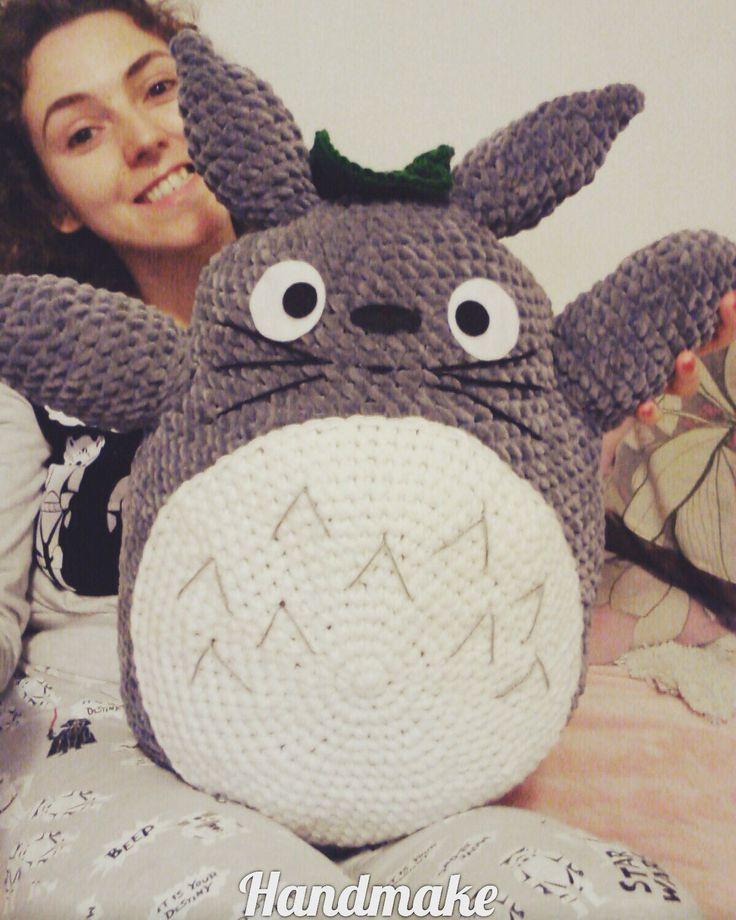 We ♡ Totoro ^_^ #totoro #anime #adult #amigurumi #toy #baby #gift #crochet #instacrochet #etsy #etsyfind #cute #funny #pillow #тоторо #аниме #мультфильм #мультсериал #мультяшный #ручнаяработа #подушка #амигуруми #вязание #сувенир #подарок #игрушка