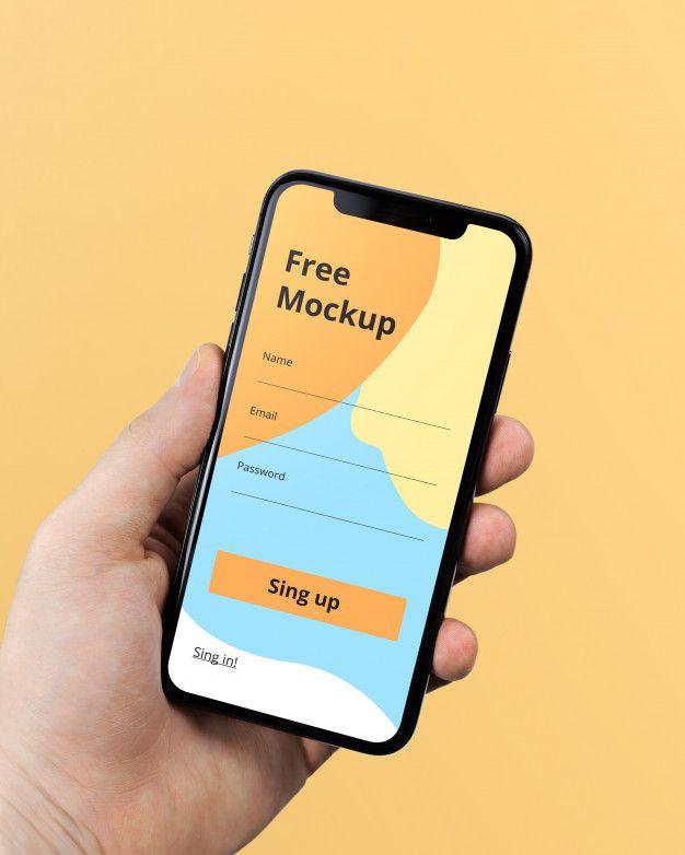 Hand Holding Iphone X Mockup Mockup Free Psd Iphone Mockup Free Free Mockup