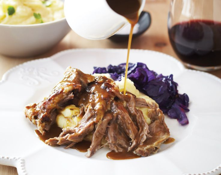 Slow Cooked Pulled Lamb