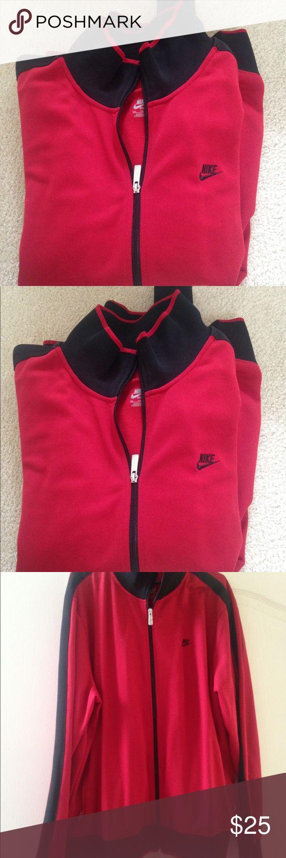 Nike Track Jacket Nike Track Jacket on trend fashion piece..offers are welcome. bundle and save its gift giving season 🎄 Nike Jackets & Coats