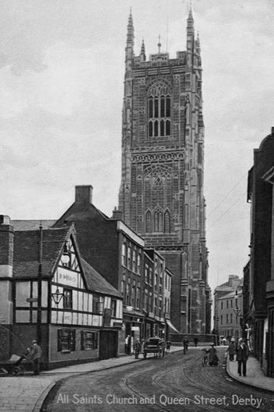 Derby Queen St 110 - OLD PHOTOS OF DERBY
