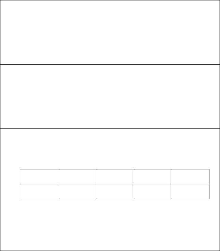 Performance Evaluation Form 1