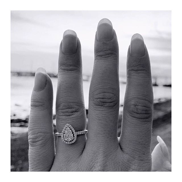 #ISaidYaass @mrrobertbrendan . . . . . #engaged #couple #couplegoals #isaidyes…