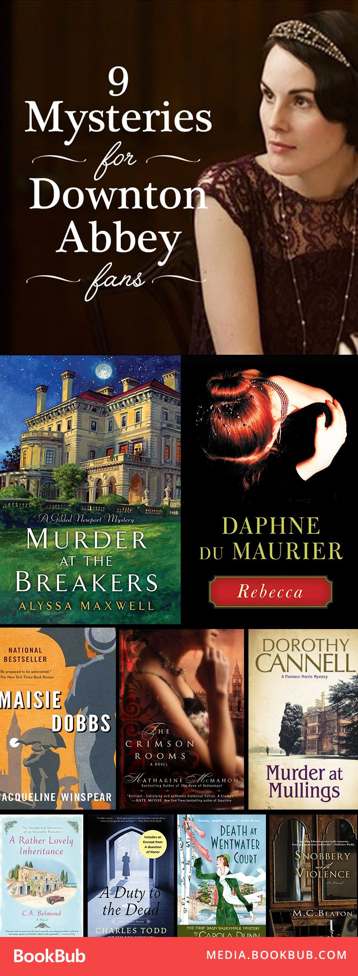 9 Addicting Mysteries For 'downton Abbey' Fans