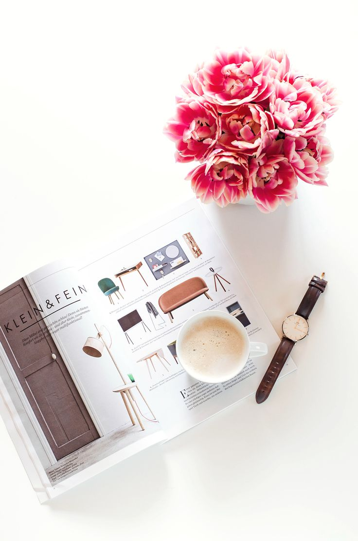 Kaffee und ELLE Decoration.