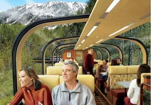 Alaska Dome Rail Car - Future family trip to Denali National Park