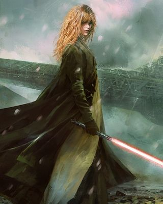 Epic STAR WARS Fan Art - Apprentice am I the only one who thinks that this looks kinda like Hermine