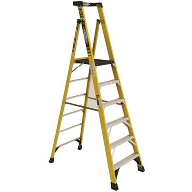 Pd7306 Type Iaa Aluminum Podium Ladder 44 6 Ft Ladder Platform Ladder Step Ladders