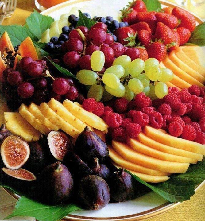 Yummy fruit platter