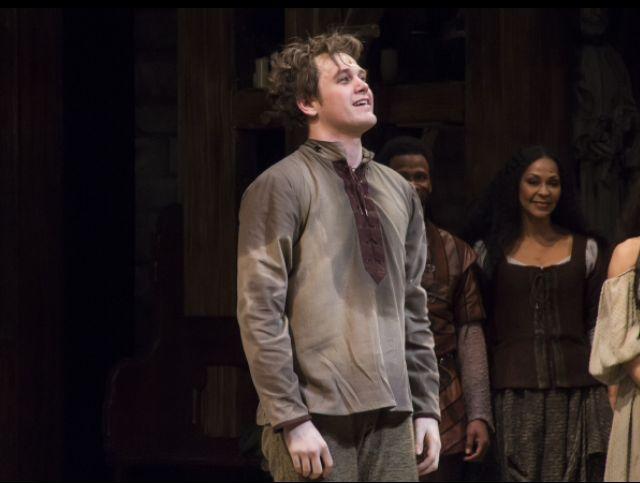 Michael Arden as Quasimodo He has brought me to TEARS. I adore his Quasimodo
