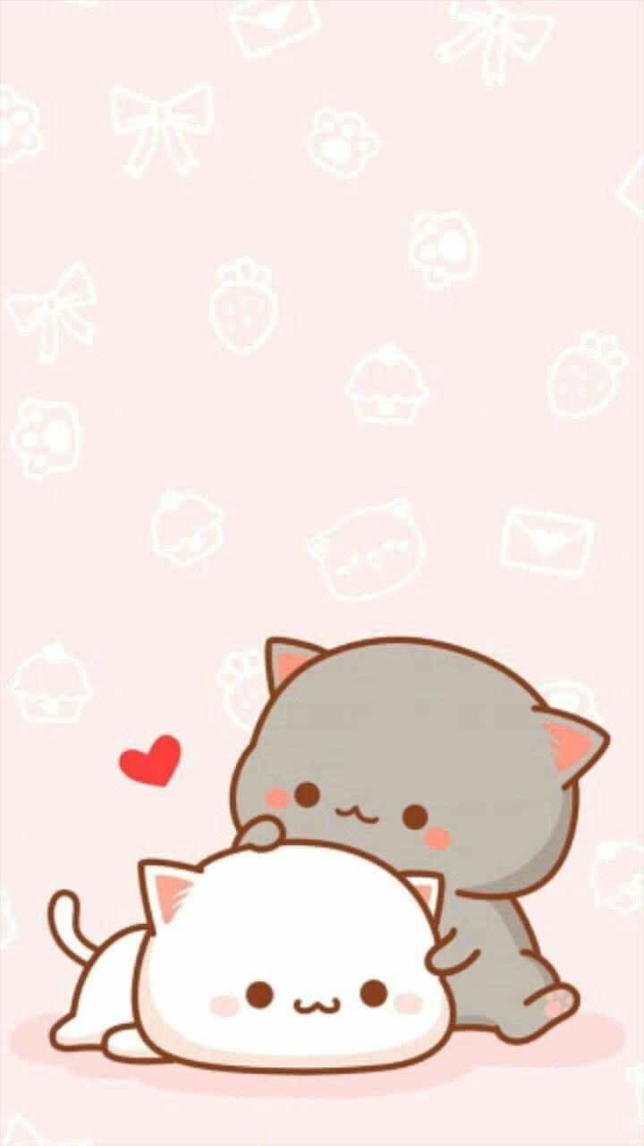 Ig Kwai Universe Kawaii Cat Cute Wallpaper Pastel Pink Cute Cartoon Wallpapers Cute Cat Wallpaper Cute Wallpapers