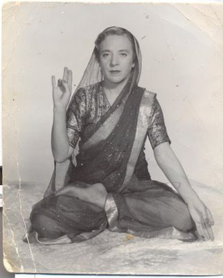 Indra Devi / Eugenia Peterson-Labunskaya - Mother of Western Yoga - The famous Yoga guru Sri Tirumalai Krishnamacharya accepted her as a student, only after the Maharaja of Mysore spoke on her behalf and in 1938 she became the first foreign woman among dedicated yogis. She met every challenge Krishnamacharya set out for her and was so successful that the guru asked her to work as a yoga teacher.