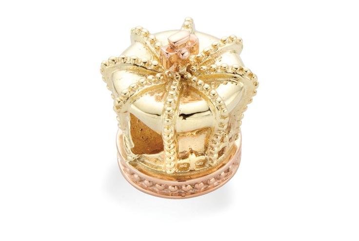 Crown Bead Charm