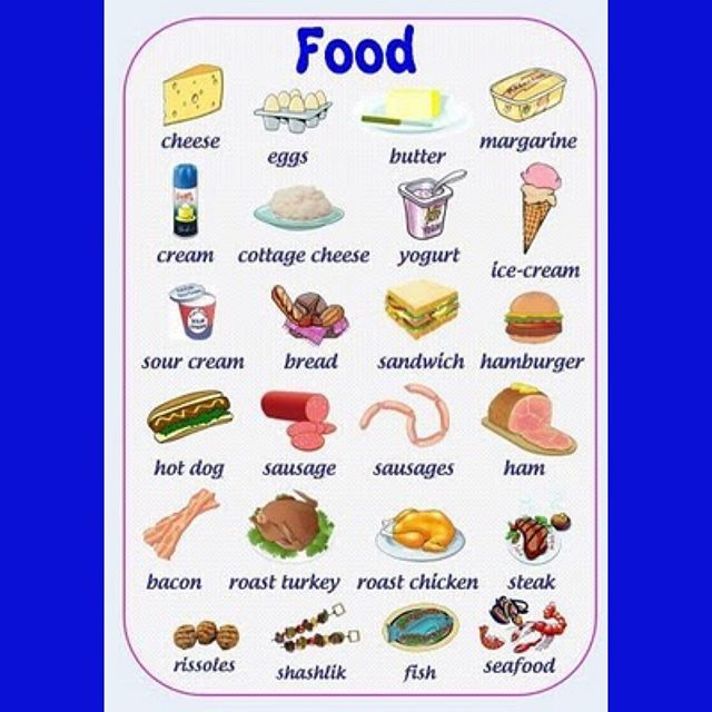 Food - Vocabulary | Click link in bio for videos  #learning