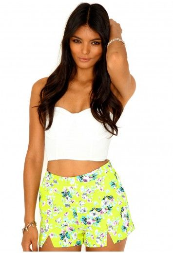 Alicja Floral Print Shorts - Shorts - Missguided
