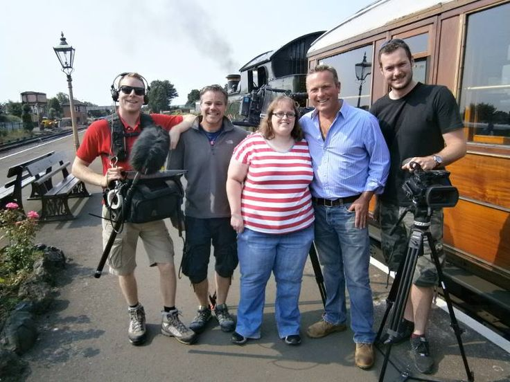 Me with Jules and the Escape To The Country team filming in Kidderminster 5th of July. More pics over on the Jules Hudson Fans facebook group - http://on.fb.me/juleshudsonfans - feel free to join us!