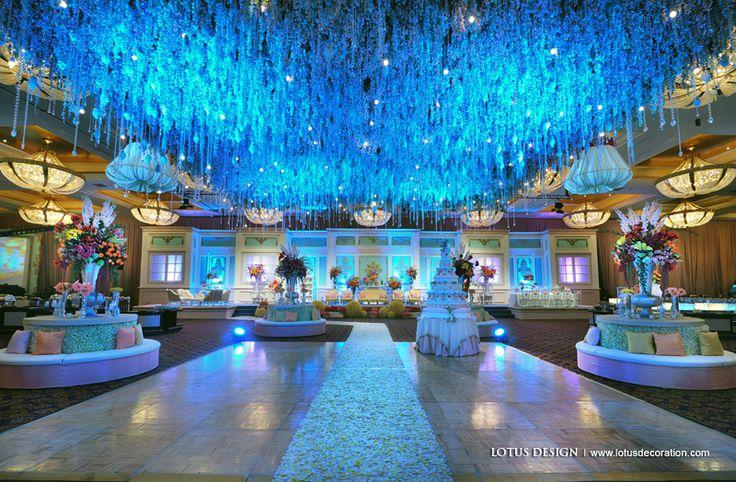 I want my wedding decoration like this :p