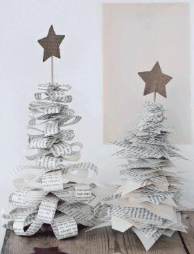 Galleri: Lav unik julepynt af gamle bøger | Femina