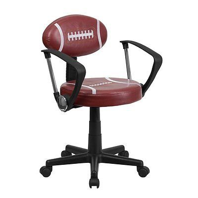 Flash Furniture BT 6181 FOOT A GG Football Task Chair With Optional
