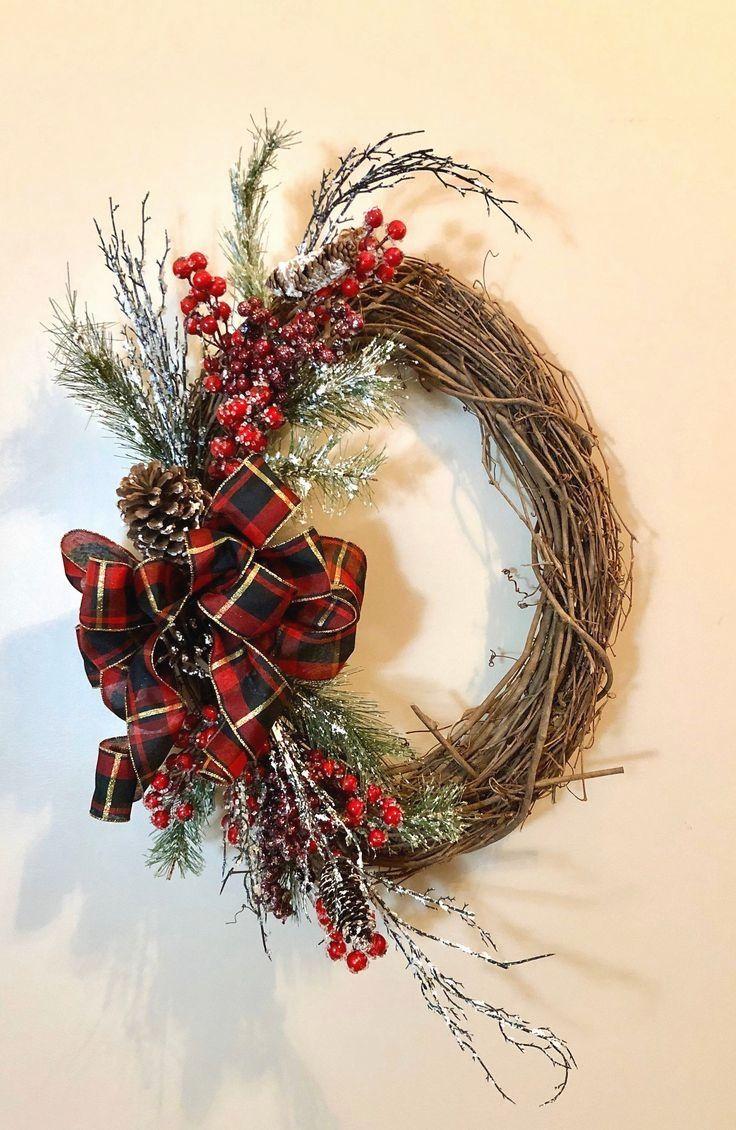 18++ Grapevine christmas wreath ideas