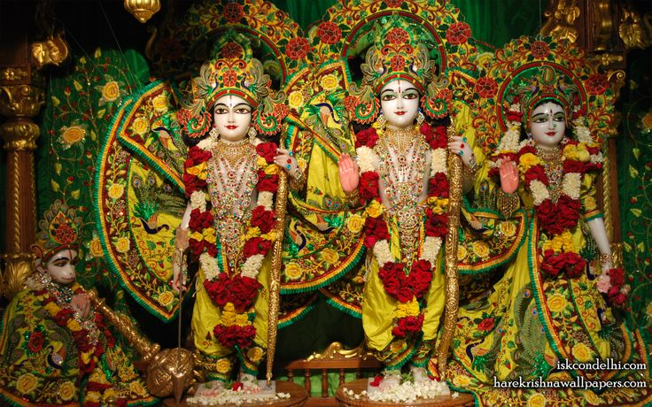 To view Sita Rama Laxman Hanuman Wallpaper of ISKCON Dellhi in difference sizes visit - http://harekrishnawallpapers.com/sri-sri-sita-rama-laxman-hanuman-iskcon-delhi-wallpaper-015/
