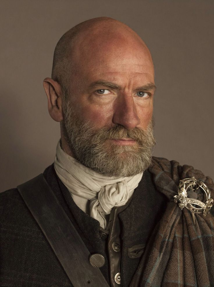 Graham McTavish as Dougal MacKenzie - warchief on Outlander