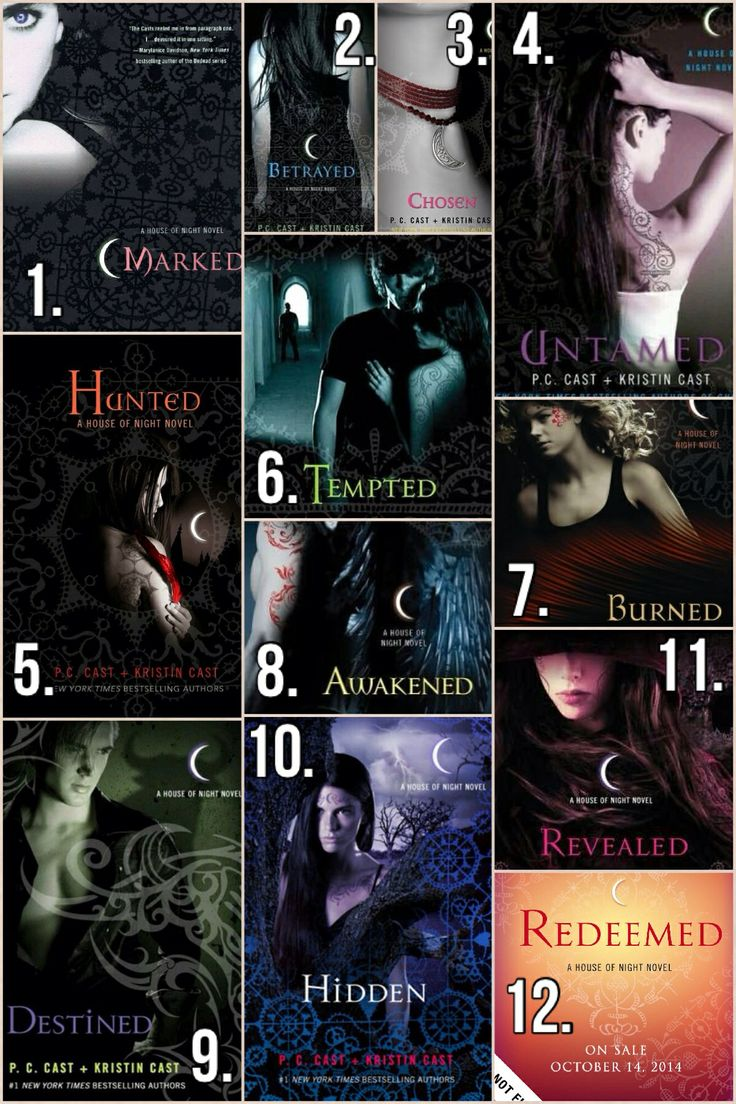Image result for the house of night series books marked through revealed